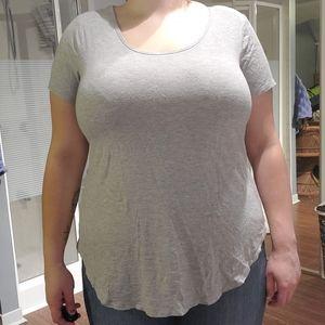 Gray Addition elle t-shirt
